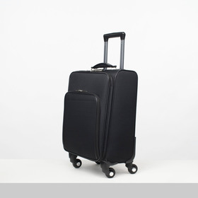 "The small suitcase 20"" Flight, 33*20*48, otd zipper, no pocket, code lock, 4 wheel, black"