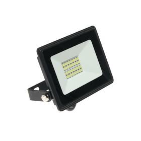 Прожектор светодиодный IN HOME СДО-8, 20 Вт, 230 В, 1900 Лм, 6500 К, IP65, холодный белый