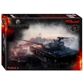 Пазл World of Tanks, 120 элементов, МИКС