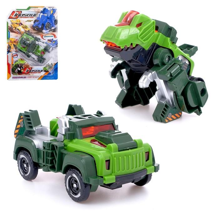 Робот «Автозавр», трансформируется, МИКС - фото 798480324