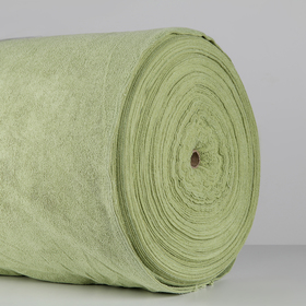 Микрофибра в рулоне шир. 155 см. пл.220г/м2 цвет зеленый 38,0 кг