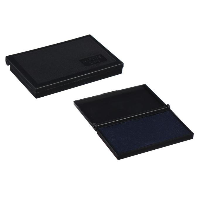 Настольная штемпельная подушка, 90 х 50 мм, Attomex, синяя