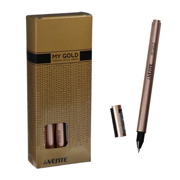Ручка гелевая deVENTE My Gold, чёрные чернила, 0.5 мм - фото 2015591