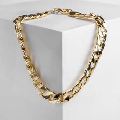 Chain Golden flat color matte gold