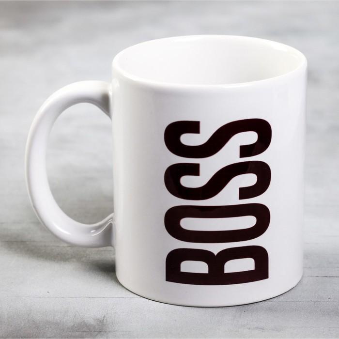 Кружка «BOSS», 300 мл - фото 488735