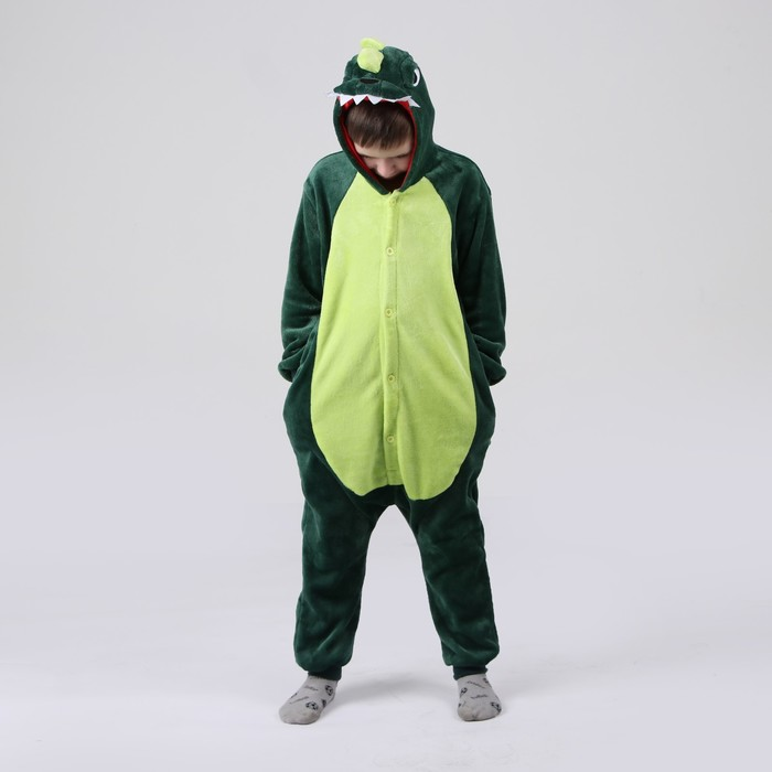 Кигуруми «Дракон зелёный», рост 130 см
