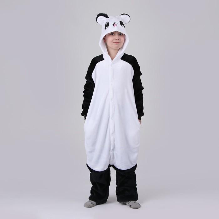 Кигуруми «Панда светлая», рост 130 см