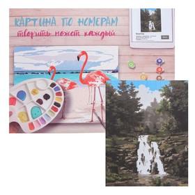 Картина по номерам «Водопад» 40×50 см