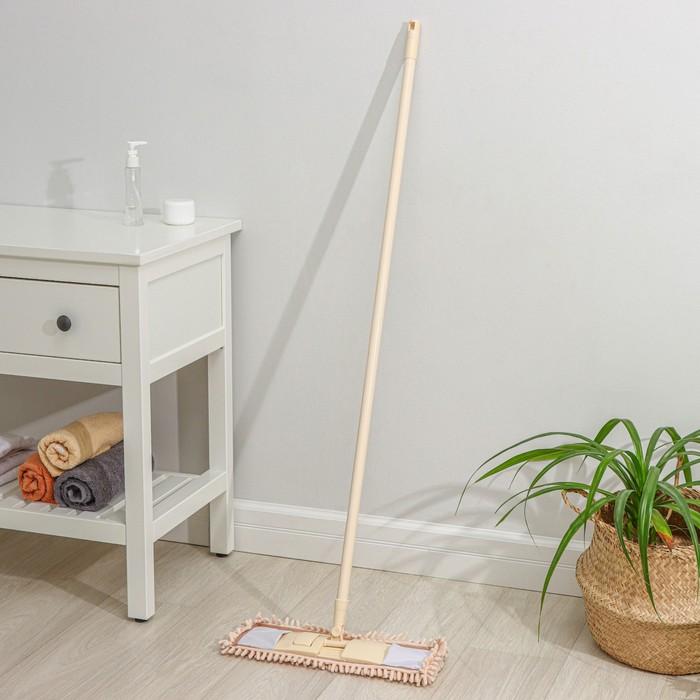 MOP is flat, painted stalk, Hedwig 43х14х124 cm, MIX color