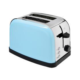 Тостер Kitfort КТ-2014-4, 850 Вт, 7 режимов прожарки, 2 тоста, голубой