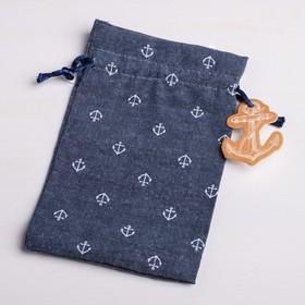 Bag gift Anchor, 10 x 16 cm