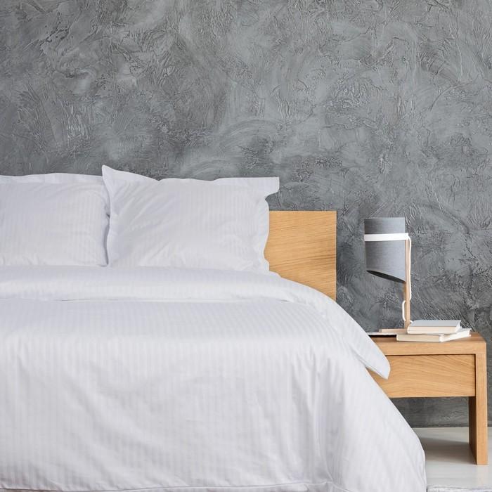Постельное бельё Этель «Hotel» евро 207х232 см, 227х252 см, 73х73 + 5 см-2 шт - фото 651395