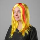 "The wig ""Super Medium Mix"" Fiery yellow / 1pcs/158-M"