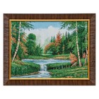 """F315-30x40 Painting of the tapestry """"Quiet pool"""" (35x45)"""