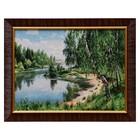 """M104-30x40 Painting of the tapestry """"Berezhok"""" (35x45)"""