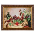 """WJ003-30x40 Painting of the tapestry """"still life"""" (35x45)"""