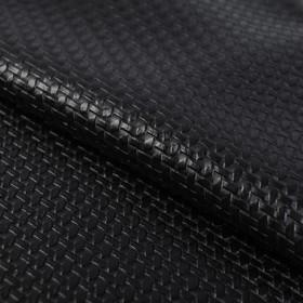 Пэчворк декоративная кожа «Черная ночь», 50 х 50 см.