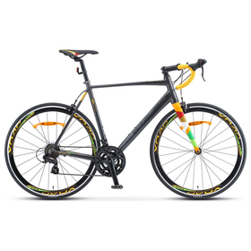"""Велосипед 28"""" Stels XT280, V010, цвет серый/жёлтый, размер 23"""""""