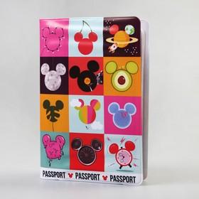 Паспортная обложка, Микки Маус