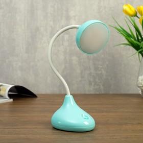 Лампа настольная 23765/1 LED 4Вт USB АКБ синий 10х8х32 см
