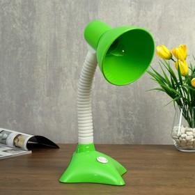 Лампа настольная 57184/1 E27 40Вт зеленый 17х16,2х35 см