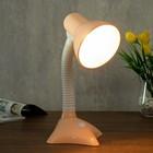 Лампа настольная 57185/1 E27 40Вт персиковый 17х16,2х35 см - фото 975057