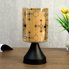 Аромасветильник сенсорный 49280/1 G4 20Вт черный 12х12х25 см