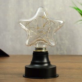 "Ночник ""Звезда"" LED батарейки 2xAAA 10,5х8х16 см"