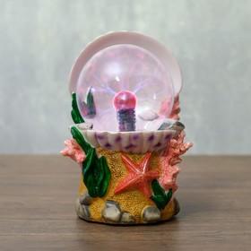 "Плазменный шар ""Морское дно"" 19х9,5х18 см"