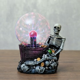 "Плазменный шар ""Скилет"" 13,5х10х16,5 см"