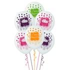 """Шар латексный 14"""" «С днём рождения!», сладкий праздник, набор 5 шт. - фото 463295"""