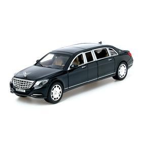 Машина металлическая «Лимузин», 1:24, открываются двери, капот, багажник, инерция, цвета МИКС
