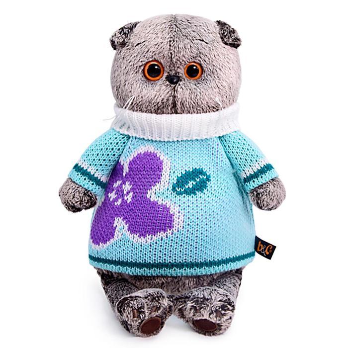 Мягкая игрушка «Басик» в весеннем свитере, 22 см - фото 4470951
