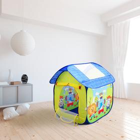 Палатка детская игровая «Животные» 114×112×120 см