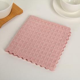 Салфетка из микроволокна 30×30 см, цвет МИКС