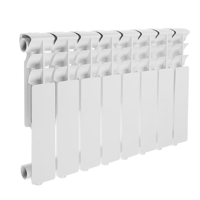 Радиатор алюминиевый Lammin ECO, 350 х 80 мм, 8 секций