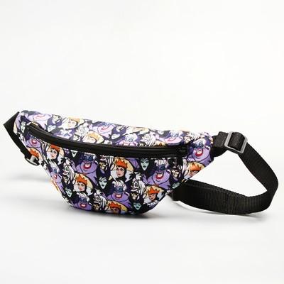 Bag on the belt 32*8*15, otd zipper, villain