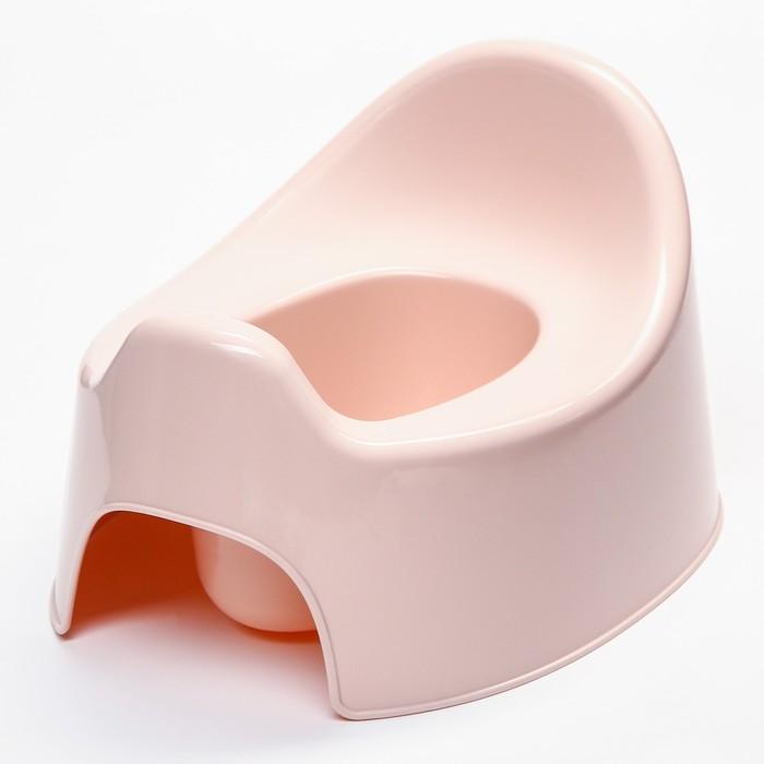 Горшок детский I'm, цвет розовый