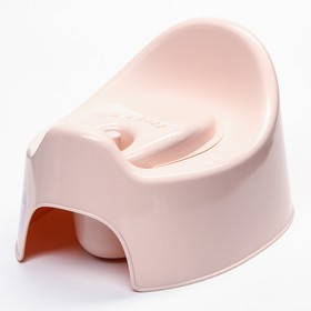 Горшок детский I'm с крышкой, цвет розовый