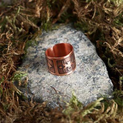 "Ring ""Spider"", copper"