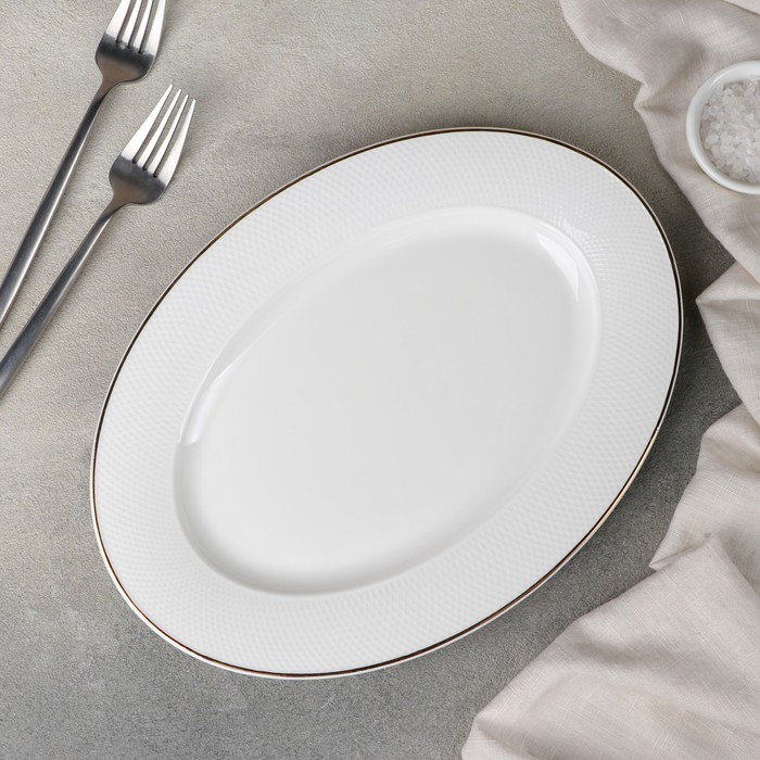 Блюдо «Маретта», 29,5x21,5x2 см - фото 798485349