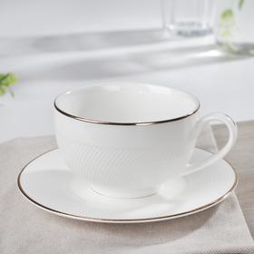 {{photo.Alt || photo.Description || 'Чайная пара «Маретта», чашка 230 мл, 12×9,3×5,6 см, блюдце 14,8×1,3 см'}}
