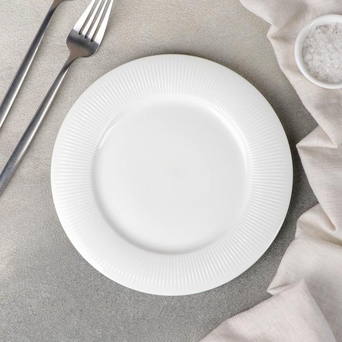 Тарелка десертная «Паола», 20x1,3 см - фото 798485370