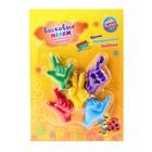 "Wax crayons ""Gestures"", set of 5 colors"