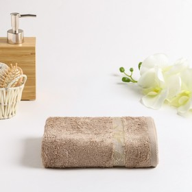 Terry towel Bamboo 030 70x130 cm, beige, 100% bamboo, 450g / m2