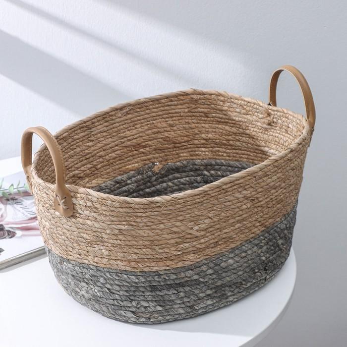 "Basket storage wicker ""Sweet"", 37×28×21 cm"