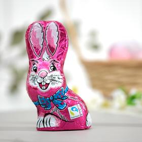 Пасхальный кролик Only из молочного шоколада, розовый, 60 г