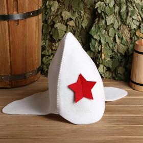 """Bath hat """"budenovka"""""""