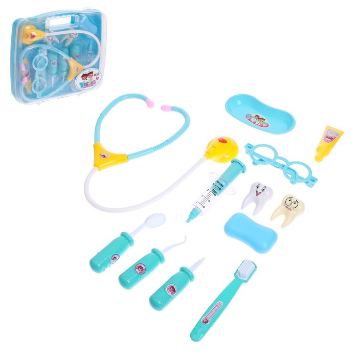 Набор доктора в чемоданчике «Зубной врач» - фото 798487036