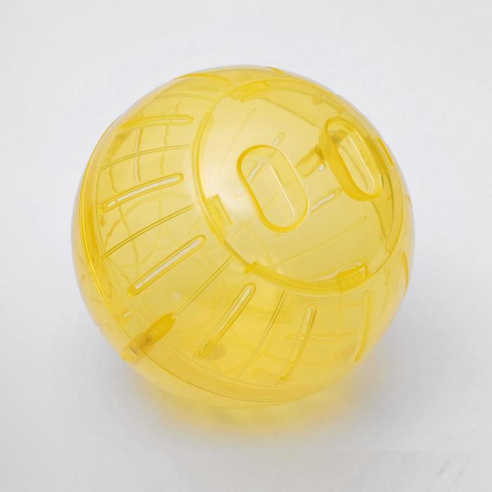 Прогулочный шар для мелких животных, размер М, 14 см, микс цветов